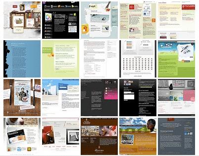 Идеи для дизайна сайтов